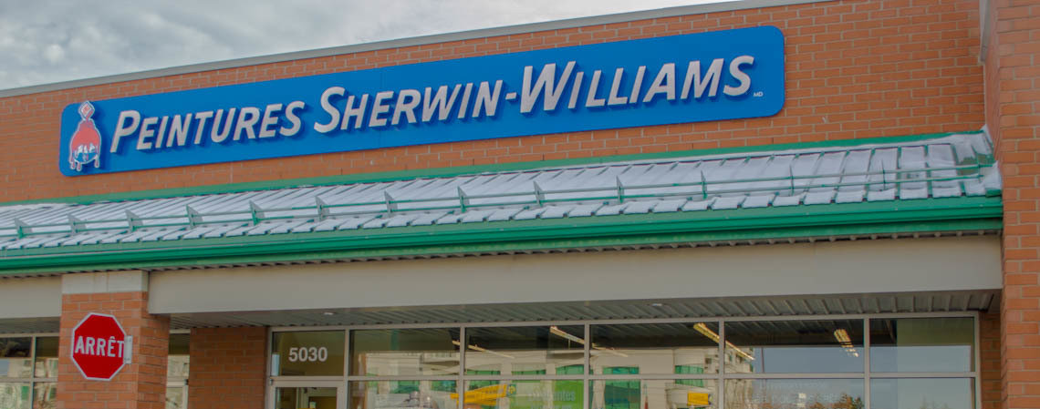 Peinture Sherwin-Williams