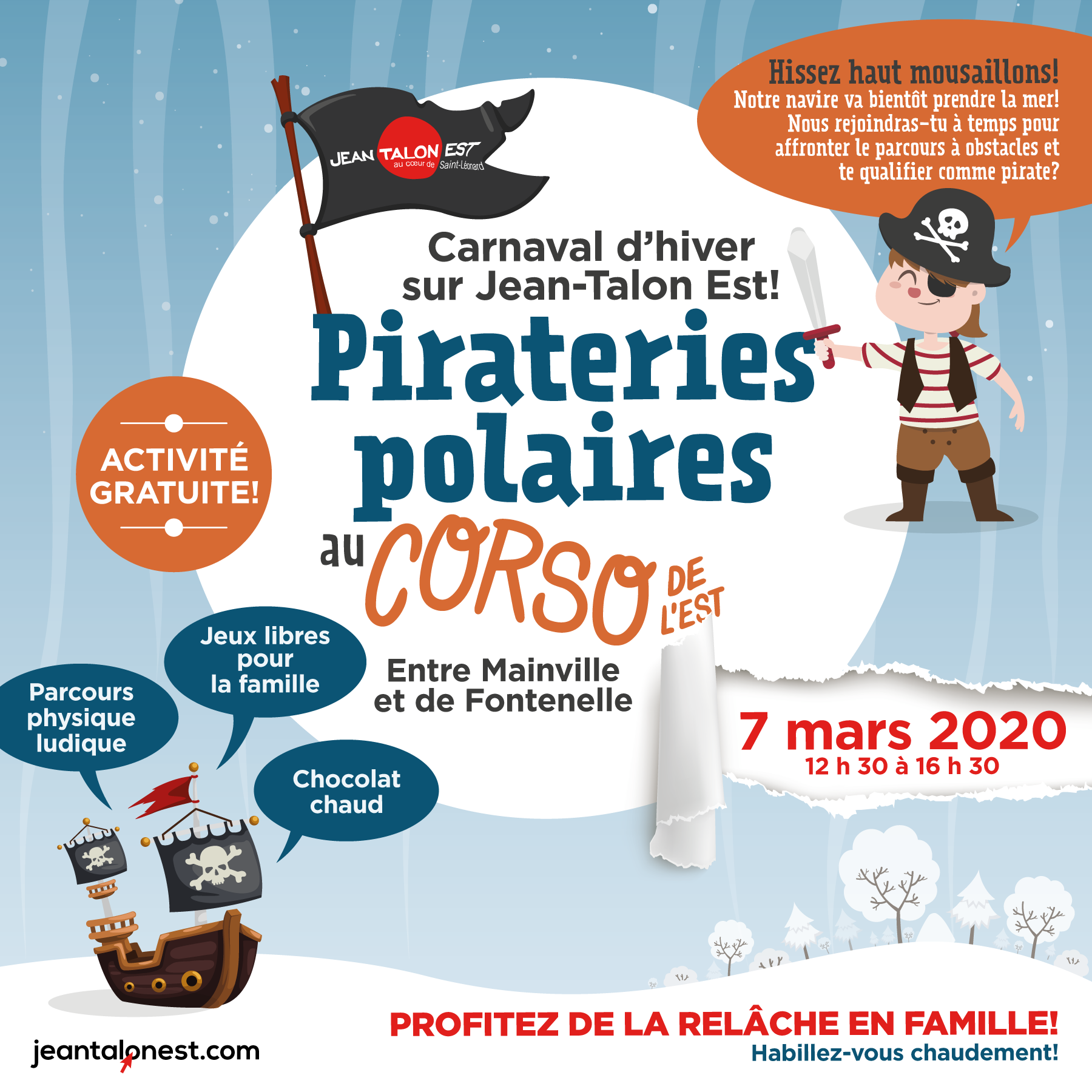 Pirateries polaires au Corso de l'Est
